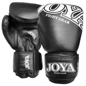 "Joya ""THAI""  Kickboxing Glove (Leather) Black (0060-Black)"