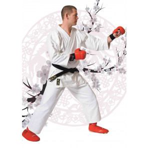 Karate suit competition white
