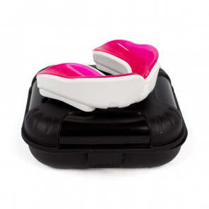 Makura Mouthguard Ignes Pro Polar White / Electric Pink